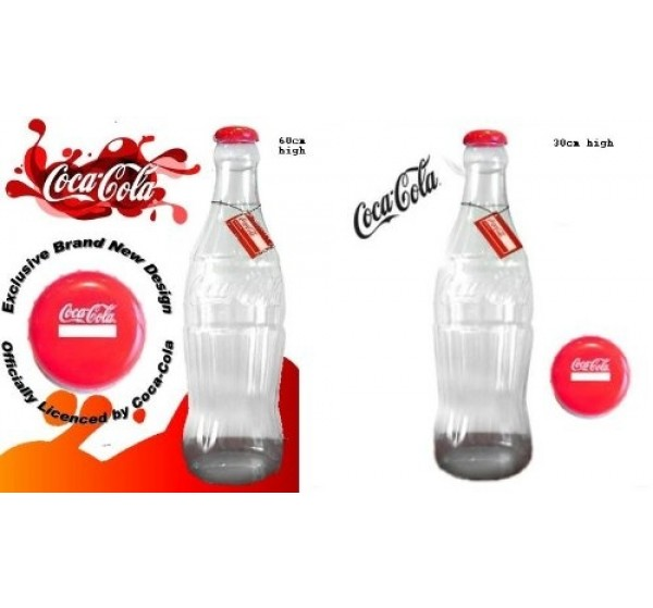 Plastic Coca Cola/Coke Savings Money Bottle - Official License