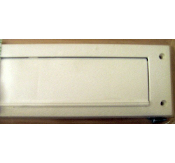 EasyFix Draught Excluder / LetterBox Seal with Flap - DE705 White