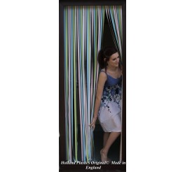 Heavy Duty Bug Blind,Fly Blind,Strip Blind, Door Blind-PASTEL MULTI COLOURED