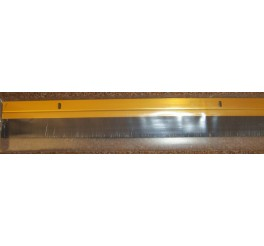 914mm Wide EasyFix - DE511- Threshold Draught Excluder - Gold Aluminium