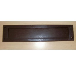 EasyFix Draught Excluder / LetterBox Seal with Flap - DE707  Brown