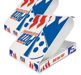 """9"""" White Pizza Boxes - PACK OF 100 BOXES"""
