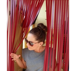 Heavy Duty Caravan / RV Blind in Red Wine